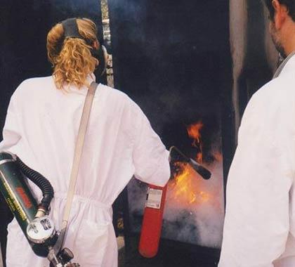 ejercitacion incendio