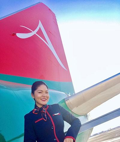 esperienza hostess di volo