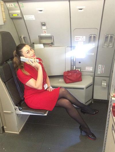 experiencia de azafata de vuelo
