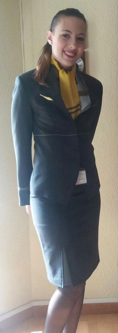 martina hostess aereo
