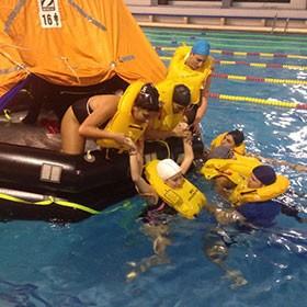 natación simulacion