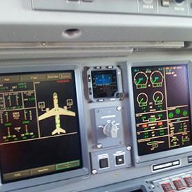 comandos avion