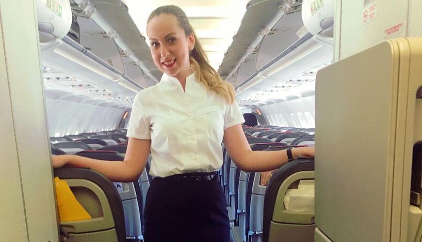 curso de azafata de vuelo