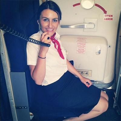 diario de azafata de vuelo