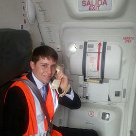 salida-avion-azafato